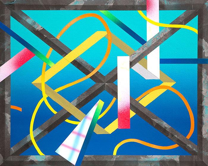 FrameAcrylic on canvas over panel 16 × 20 in