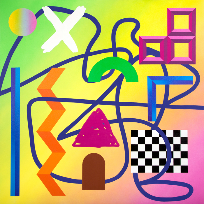 Noxious Things IIAcrylic on canvas over panel 36 x 36 inches